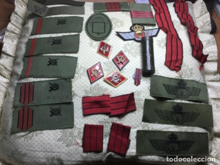 LOTE INFANTERÍA , INSIGNIAS ,EMBLEMA , SÍMBOLOS (Militaria - Other Items Related to Uniforms)