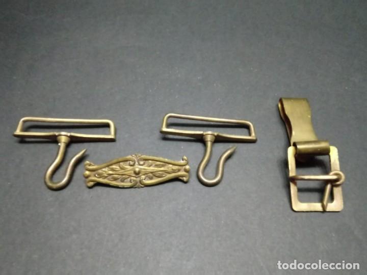 Militaria: Lote de Metales para Cinturón de Gala Oficial Ejercito de Tierra - Foto 2 - 155418750