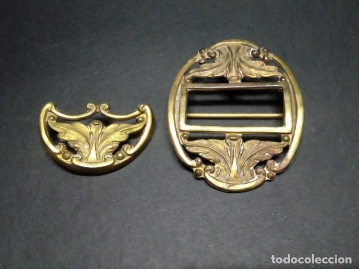 Militaria: Lote de Metales para Cinturón de Gala Oficial Ejercito de Tierra - Foto 3 - 155418750