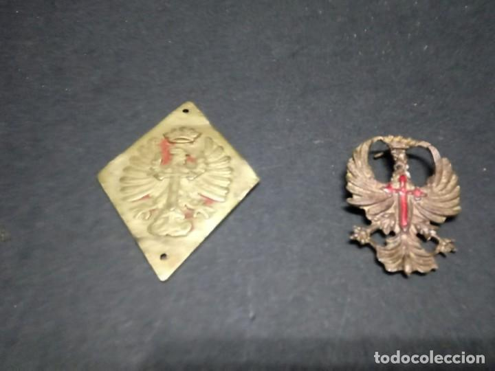 Militaria: Lote de Metales para Cinturón de Gala Oficial Ejercito de Tierra - Foto 4 - 155418750