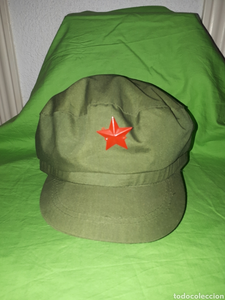 GORRA ORIGINAL REPUBLICA POPULAR CHINA (Militar - Boinas y Gorras )