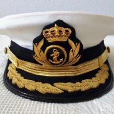 Militaria: GORRA CAPITÁN DE FRAGATA. Lote 155571110