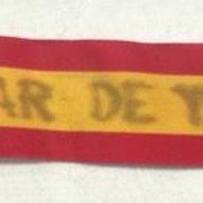 Militaria: CINTA DE DEFENSOR DEL ALCANZAR DE TOLEDO. 4 X 29 CM. Lote 155751286