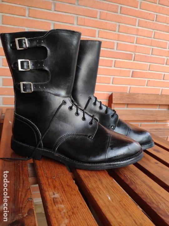 BOTAS SEGARRA 3 HEBILLAS EJÉRCITO ESPAÑOL TALLA 47 (Militar - Botas y Calzado)