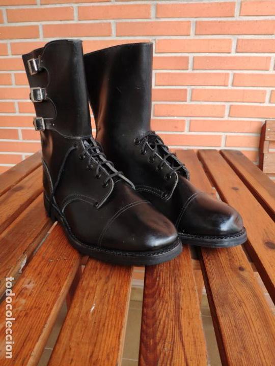 Militaria: Botas Segarra 3 hebillas ejército español talla 47 - Foto 3 - 155874290