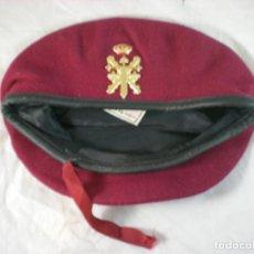 Militaria: BOINA DEL CUARTEL GENERAL TERRESTRE DE ALTA DISPONIBILIDAD - CGTAD - ELOSEGUI T57. Lote 155928278