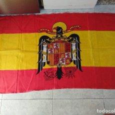 Militaria: BANDERA DE ESPAÑA CON EL ÁGUILA DE SAN JUAN. FRANCO.. Lote 156535450