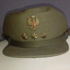 Militaria: GORRA AÑOS 70 DE CORONEL. Lote 156896978