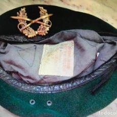 Militaria: BOINA VERDE MILITAR . Lote 157135922
