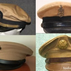 Militaria: CORONA DESMONTABLE GORRA KAKHI USN-US ARMY-MARINES. II GUERRA MUNDIAL. Lote 157138654