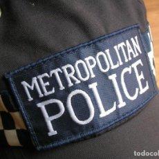Militaria: RARA GORRA AJUSTABLE DE BOBBY DE LA POLICIA METROPOLITANA DE LONDRES. ORIGINAL 100%. Lote 157919670