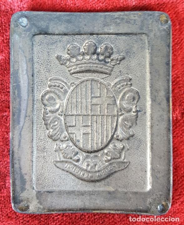 Militaria: PAREJA DE HEBILLAS. POLICÍA MUNICIPAL. FALANGE. ESPAÑA. CIRCA 1940. - Foto 4 - 158218946
