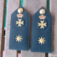 Militaria: HOMBRERAS ,PALAS, CHARRETERAS DE SANIDAD MILITAR EPOCA JUAN CARLOS. Lote 158242618