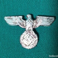 Militaria: ÁGUILA DE UNIFORME ALEMÁN ( GORRO FERROVIARIO ). Lote 158402886