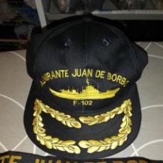 Militaria: GORRA Y CINTA DE LEPANTO ALMIRANTE JUAN DE BORBÓN.. Lote 159103138