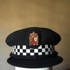 Militaria: GORRA PLATO POLICÍA LOCAL ACTUAL, COMUNIDAD AUTÓNOMA ANDALUCÍA. Lote 159345002