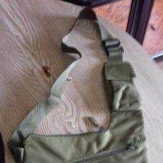 Militaria: BOLSO BANDOLERA COLOR VERDE OLIVA. Lote 159405522
