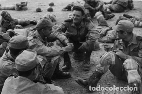 Militaria: Gorra de faena verde caqui, m1960, perfecto estado, talla M. Sidi Ifni, BRIPAC - Foto 6 - 119443243