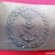 Militaria: HEBILLA DE MARINA DE CERECEDA, ÉPOCA FRANCO.. Lote 160446662