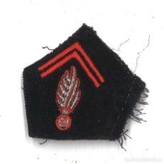 Militaria: EMBLEMA DE CUELLO EN TELA FRANCÉS. Lote 160480626