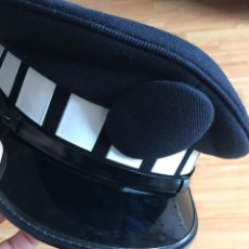 Militaria - Gorra de plato de policía local sin placa - 160581621
