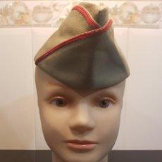 Militaria: GORRO CUARTELERO EJERCITO ESPAÑOL TIPO PLÁTANO (AÑOS 60). Lote 160608502