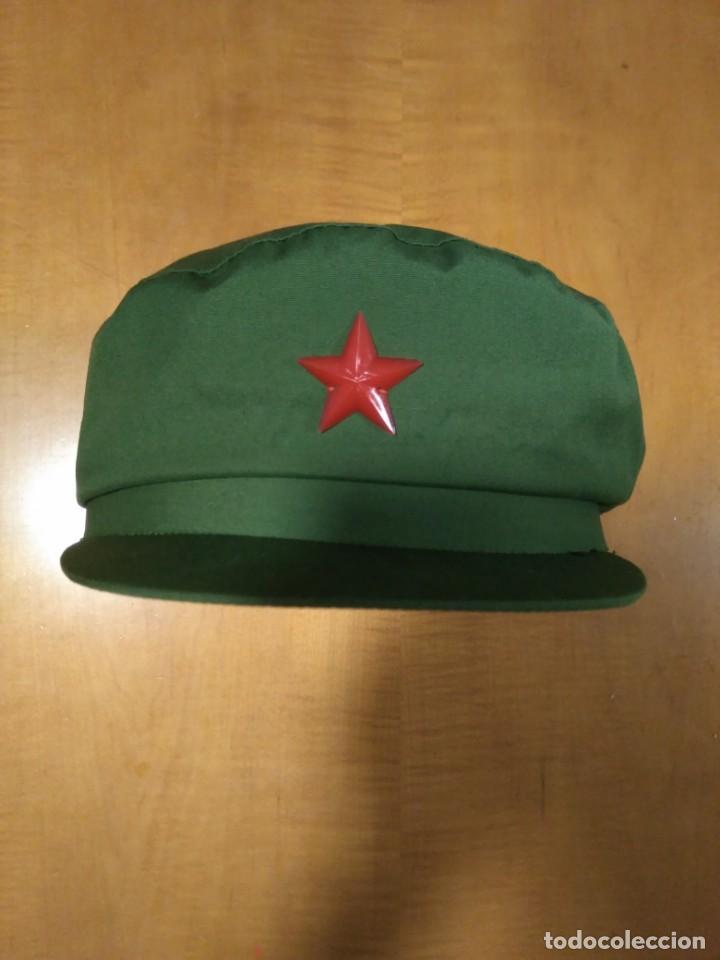 ANTIGUA GORRA DEL EJÉRCITO CHINO (Militar - Boinas y Gorras )
