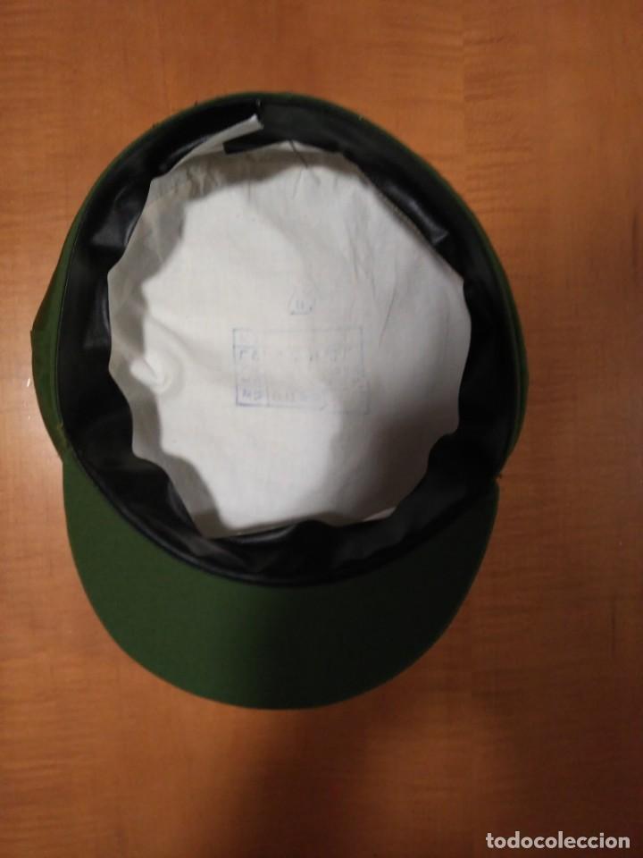 Militaria: Antigua gorra del ejército chino - Foto 4 - 160635142