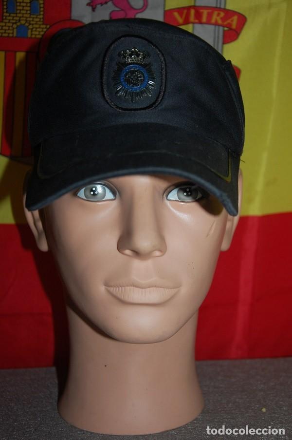GORRA DE SERVICIO POLICIA NACIONAL ESCALA BASICA TALLA M AJUSTABLE-02 (Militar - Boinas y Gorras )
