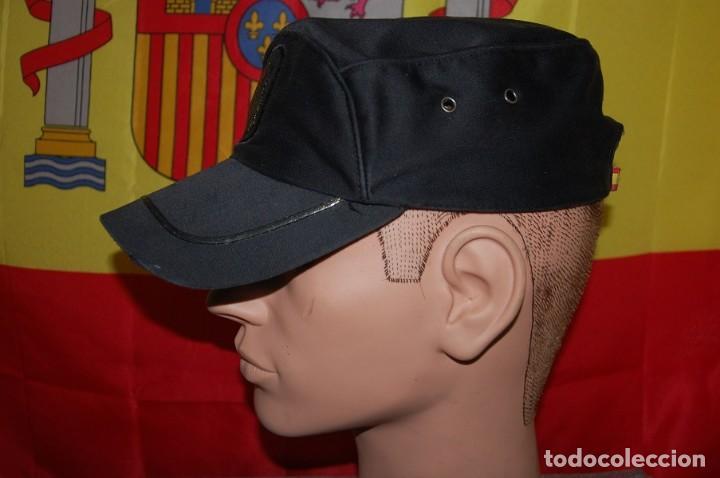Militaria: GORRA DE SERVICIO POLICIA NACIONAL ESCALA BASICA TALLA M AJUSTABLE-02 - Foto 2 - 160647506