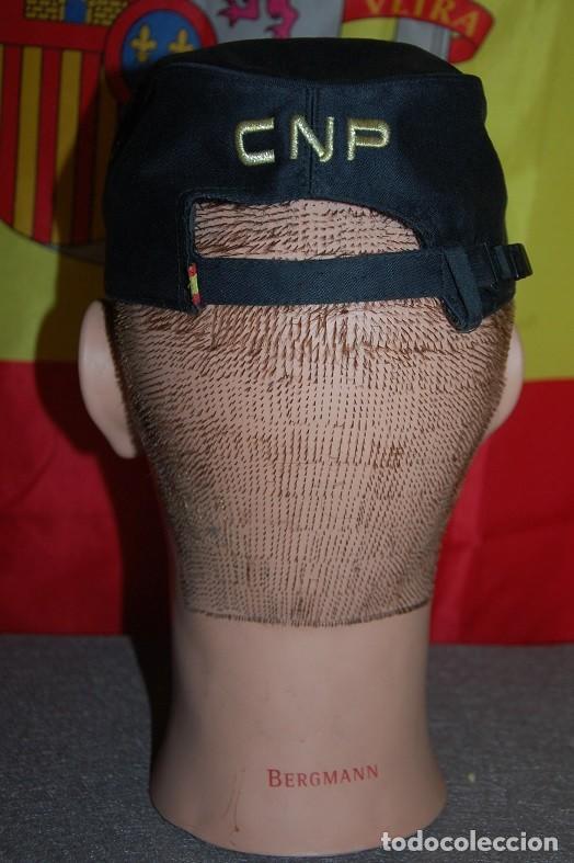 Militaria: GORRA DE SERVICIO POLICIA NACIONAL ESCALA BASICA TALLA M AJUSTABLE-02 - Foto 3 - 160647506