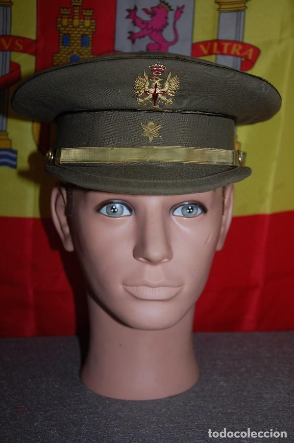 GORRA DE PLATO ALFEREZ EJERCITO DE TIERRA ESPAÑOL 1977-04 (Militar - Boinas y Gorras )