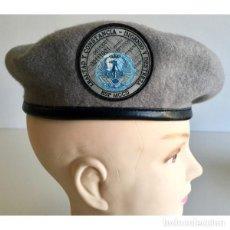 Militaria: BOINA CIBERDENSA ACTUAL MANDO CONJUNTO INCLUYE PARCHE PVC TALLAS 54-55-56-57-58-95-60. Lote 160738018