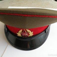 Militaria: GORRA DEL SOLDADO DEL EJERCITO SOVIÉTICO,. Lote 160929966