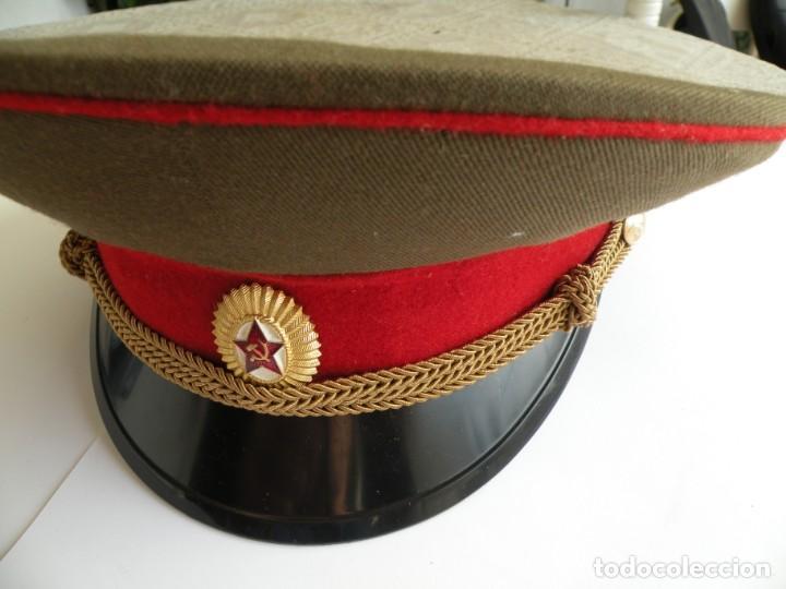 GORRA DE OFICIAL DEL EJERCITO SOVIÉTICO (Militar - Boinas y Gorras )