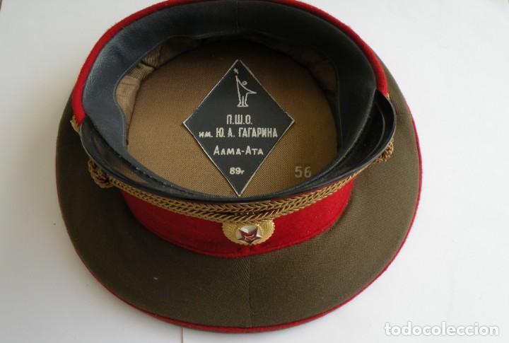 Militaria: Gorra de oficial del Ejercito Soviético - Foto 2 - 160933050