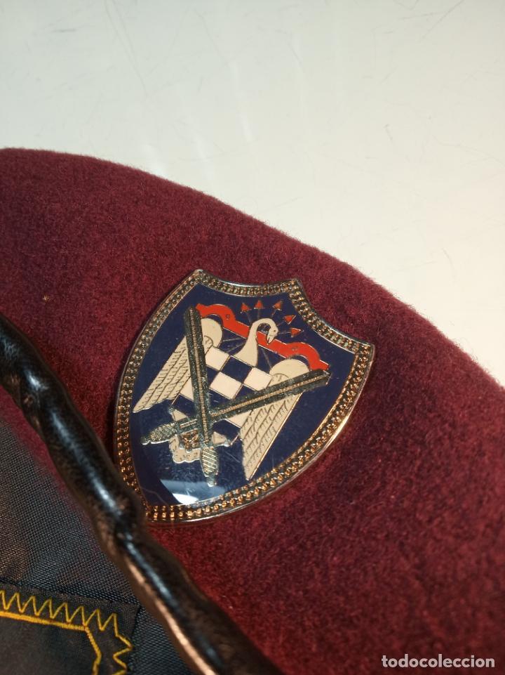 Militaria: Boina de la unión nacional de milicias universitarias. Unamu. Peteneciente a Alférez de infantería. - Foto 2 - 161091126