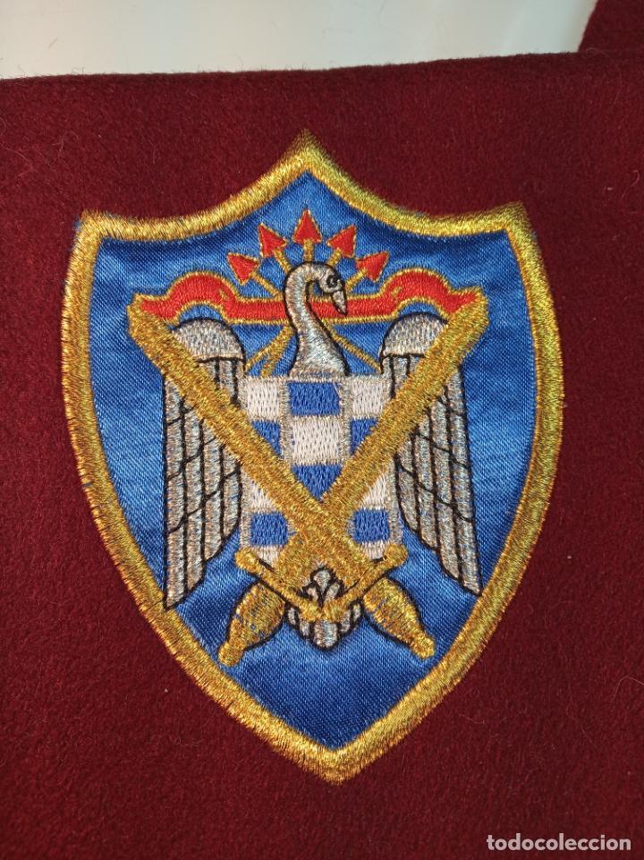 Militaria: Banda de la unión nacional de milicias universitarias. Unamu. Peteneciente a Alférez de infantería. - Foto 3 - 161091842