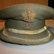 Militaria: ANTIGUA GORRA DE PLATO DE COMANDANTE . Lote 161263802