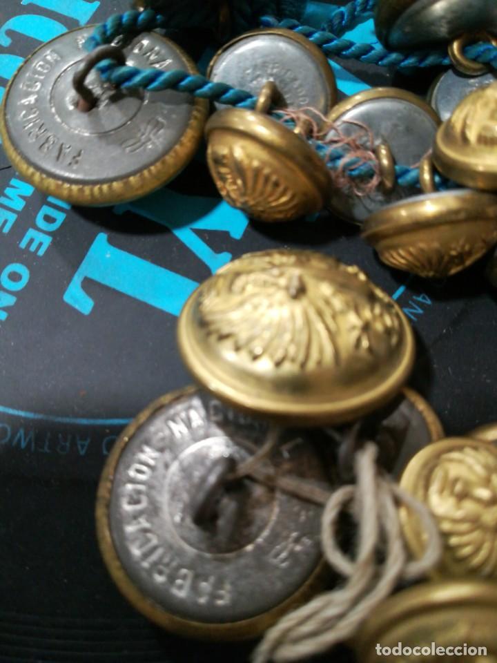 Militaria: Lote botones - Foto 4 - 161381950