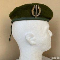 Militaria: BOINA VERDE GUERRILLERO COE COMPAÑIA OPERACIONES ESPECIALES. Lote 161422546