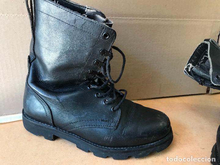 Militaria: Botas de cuero IMEPIEL (CASA SEGARRA) ejercito Español años 70 80 T41 - Foto 4 - 161458942