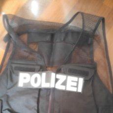 Militaria: CHALECO TACTICO POLIZEI. Lote 161527525