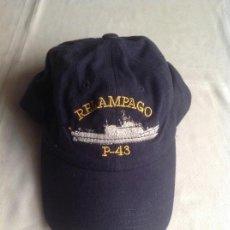 Militaria: GORRA ARMADA ESPAÑOLA - RELÁMPAGO P-43. Lote 161700342