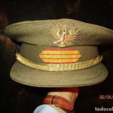 Militaria: ANTIGUA GORRA MILITAR SARGENTO EJERCITO DE TIERRA . Lote 161924266