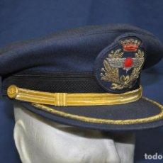Militaria: ESPAÑA. GORRA DE OFICIAL DEL EJÉRCITO DEL AIRE. ÉPOCA DE FRANCO.. Lote 162032738