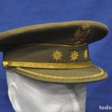 Militaria: ESPAÑA. GORRA DE PLATO DE CORONEL DEL EJÉRCITO DE TIERRA. ÉPOCA DE FRANCO.. Lote 162273026
