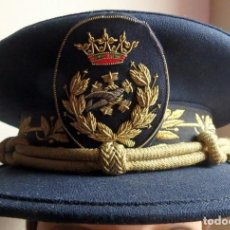 Militaria: (JX-190504)GORRA DE PLATO DE INGENIERO AERONÁUTICO,INGENIEROS INDUSTRIALES,EMBLEMAS BORDADOS.. Lote 162293810