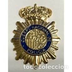 Militaria: EMBLEMA CUERPO NACIONAL DE POLICIA PARA GORRA. Lote 162428762