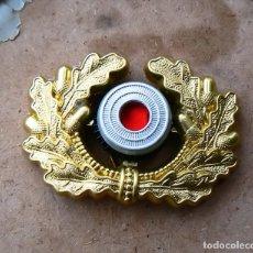 Militaria: INSIGNIA DE OFICIAL EN LA GORRA. WEHRMACHT TERCER REICH. Lote 162475494